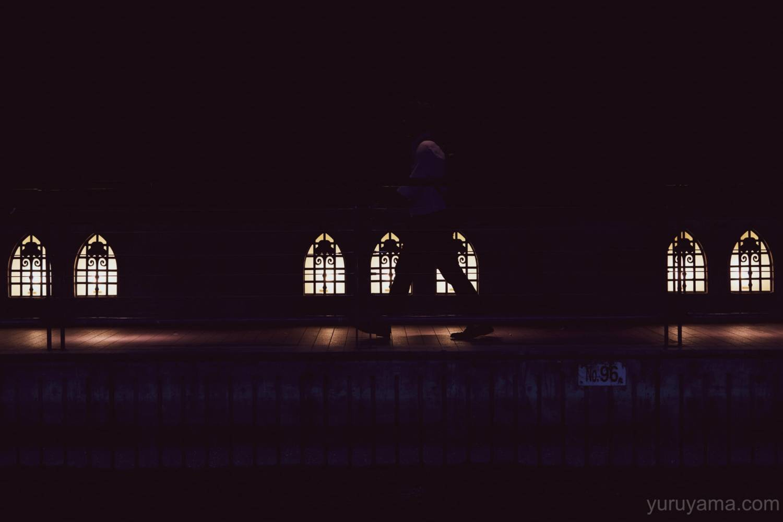 心斎橋の夜の町並み12