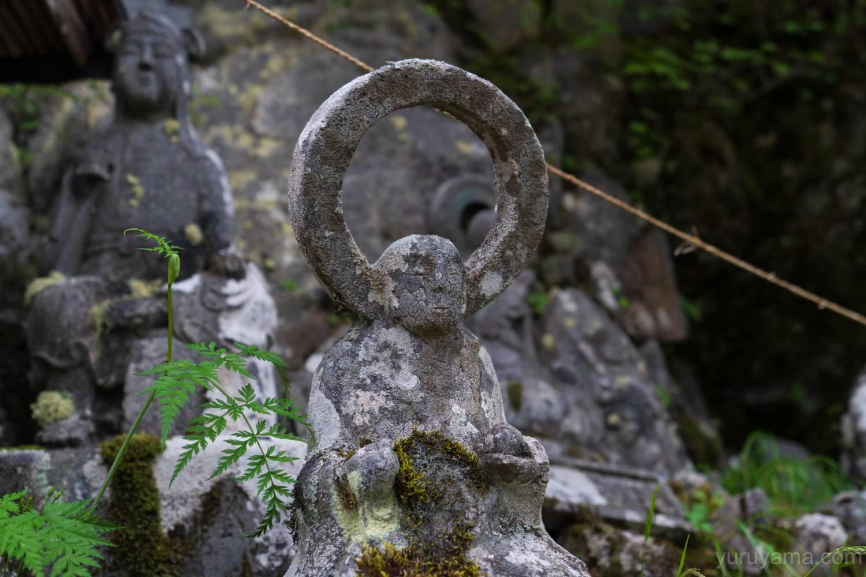 五合目小屋跡の石仏