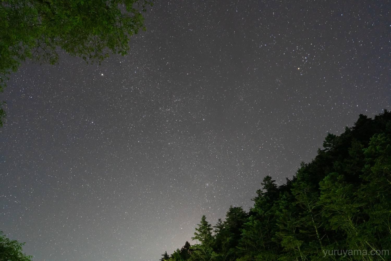 北沢峠の星空
