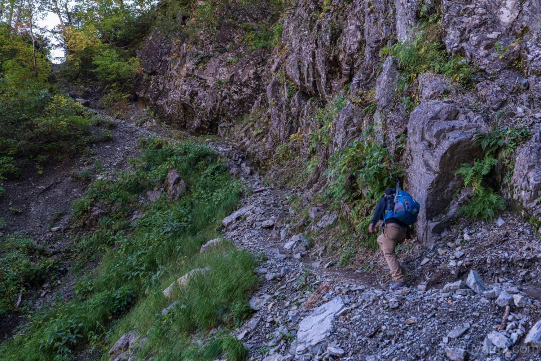 パノラマコース登山道