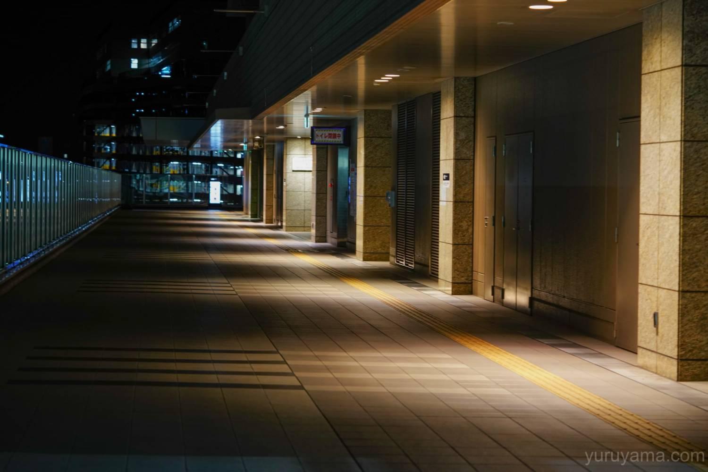 大阪深夜の夜景画像1