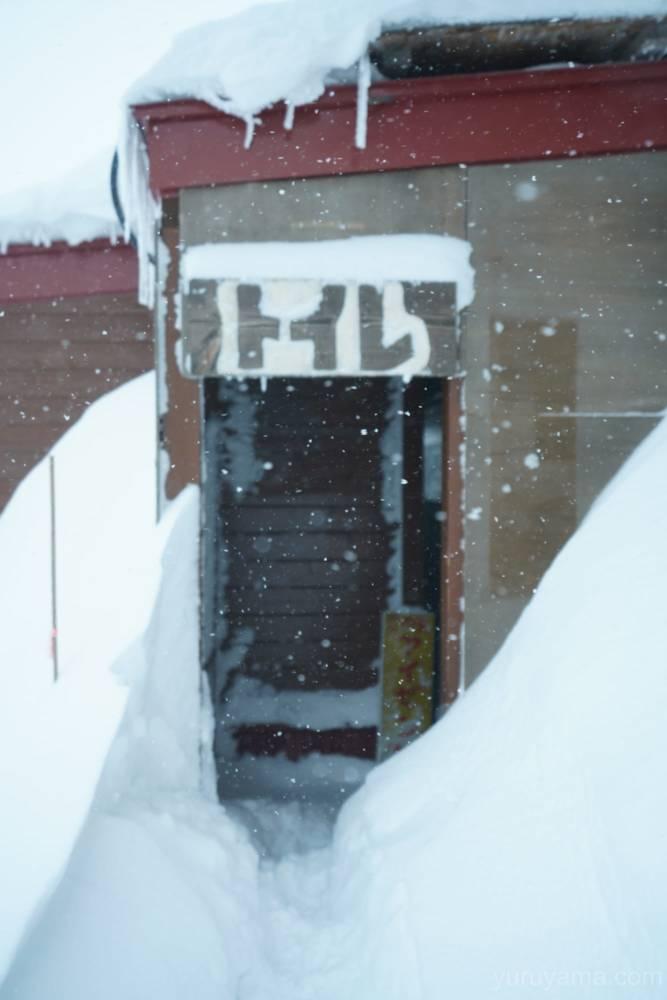 西穂山荘の外トイレの画像