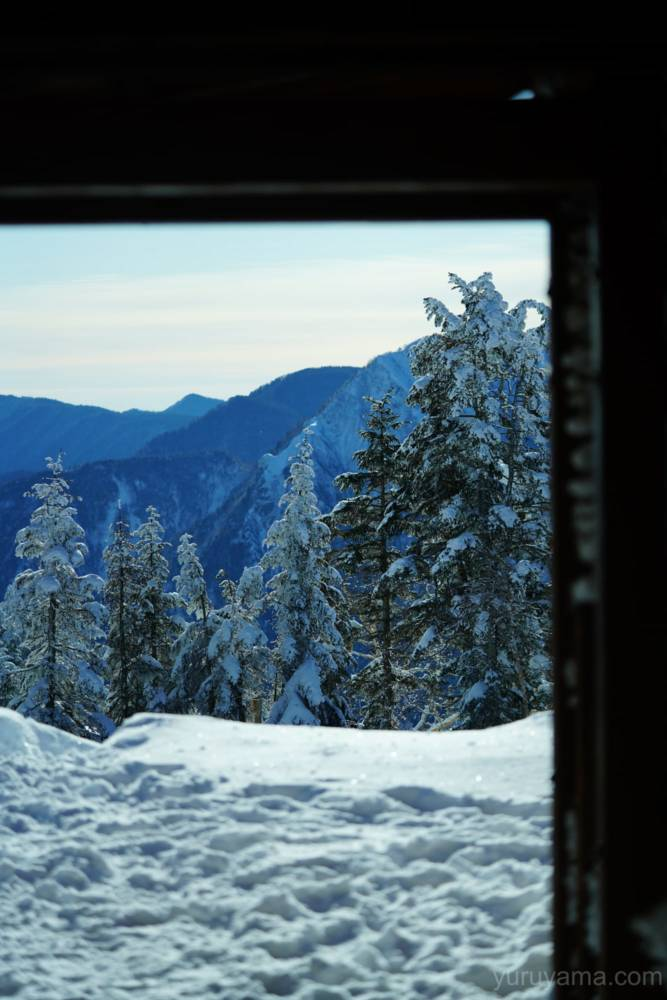 西穂山荘からの眺望の画像
