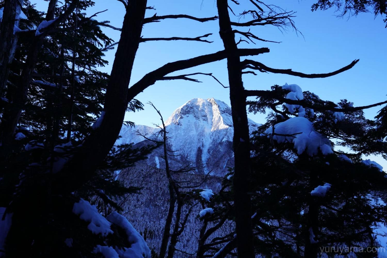 硫黄岳までの登山道の画像2