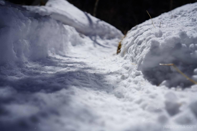 赤岳鉱泉までの登山道