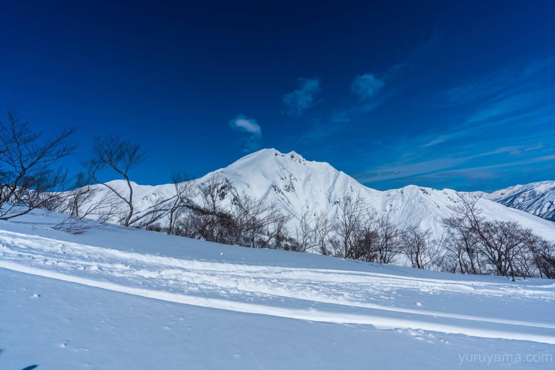 厳冬期谷川岳の画像
