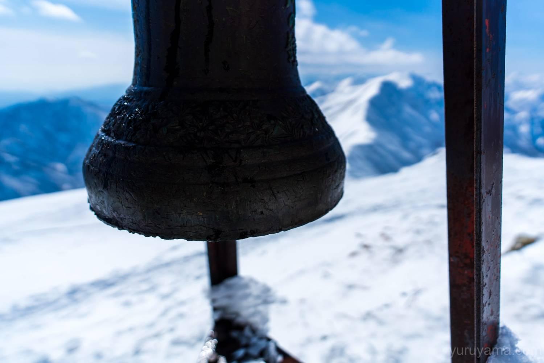 谷川岳の鐘の画像