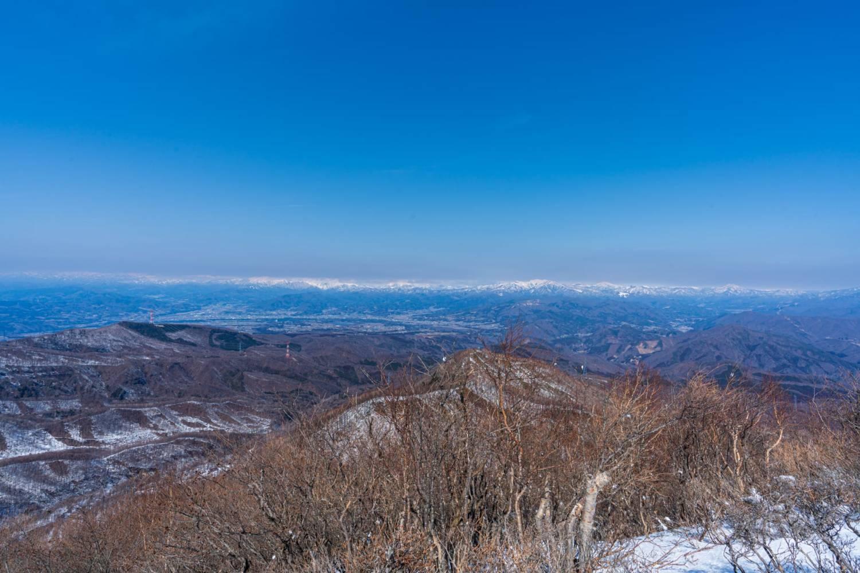 黒檜山展望台からの展望