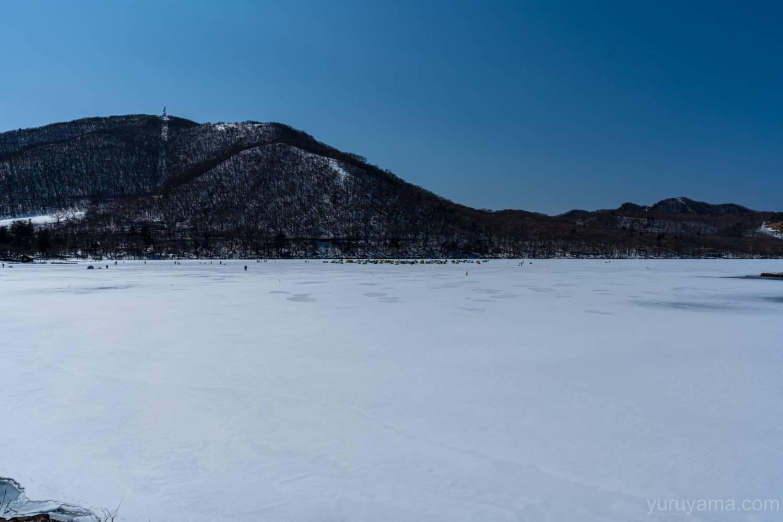 凍った大沼の画像1