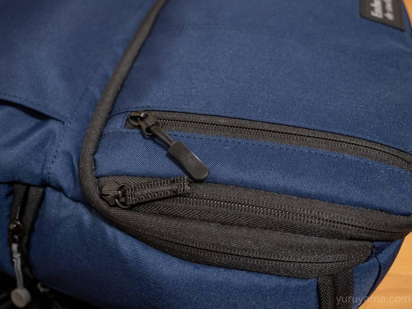 マチの浅いポケット