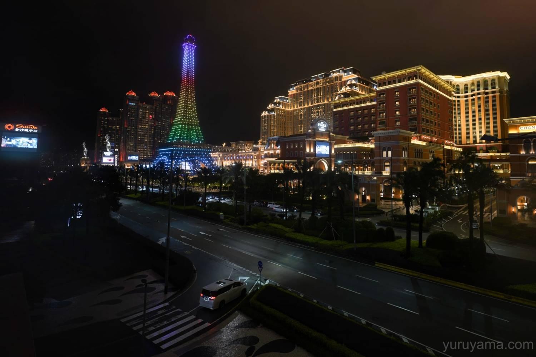 マカオの豪華絢爛なホテルの画像