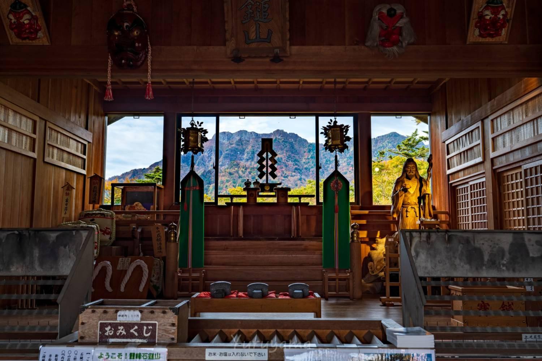 石鎚神社見返り遥拝殿の画像