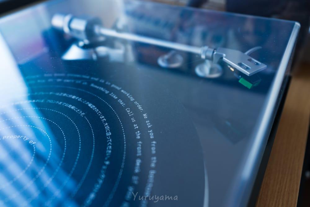 エースホテル京都全室にあるレコード