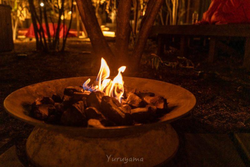 BEB5軽井沢の焚き火