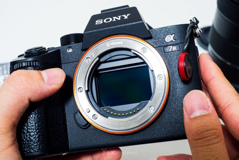 汚れのないカメラセンサー