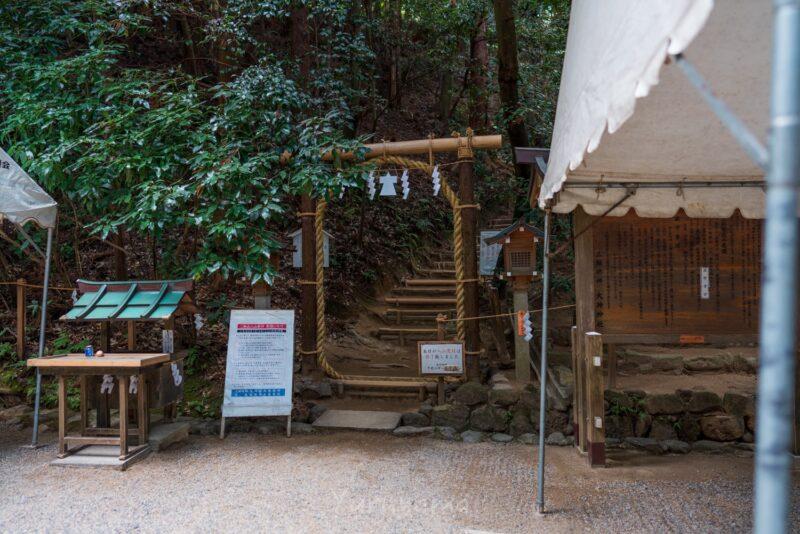 三輪山の登山口
