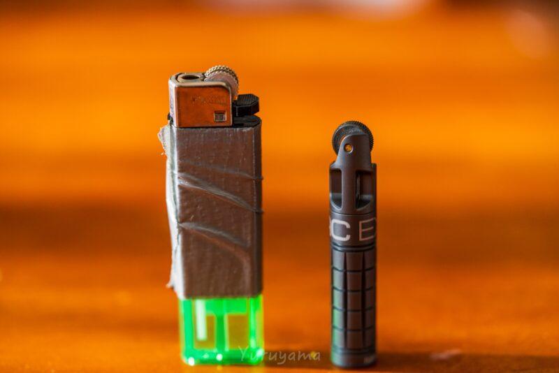 ライターとnanoSPARKの比較