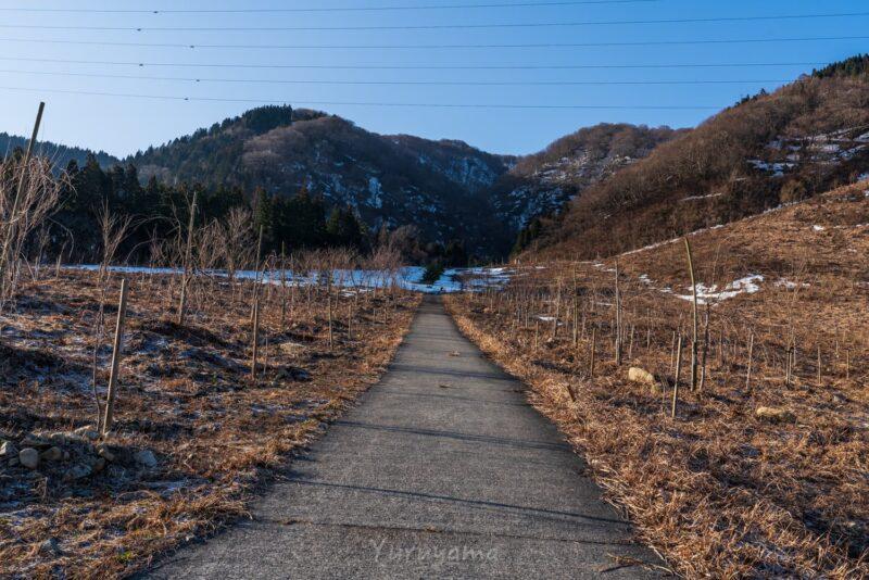 荒島岳登山道勝原スキー場跡地