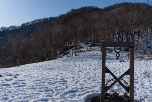 勝原スキー場跡地