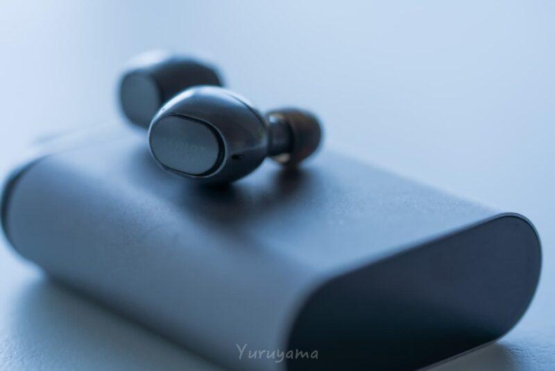 aviotのワイヤレスイヤホンと充電ケース