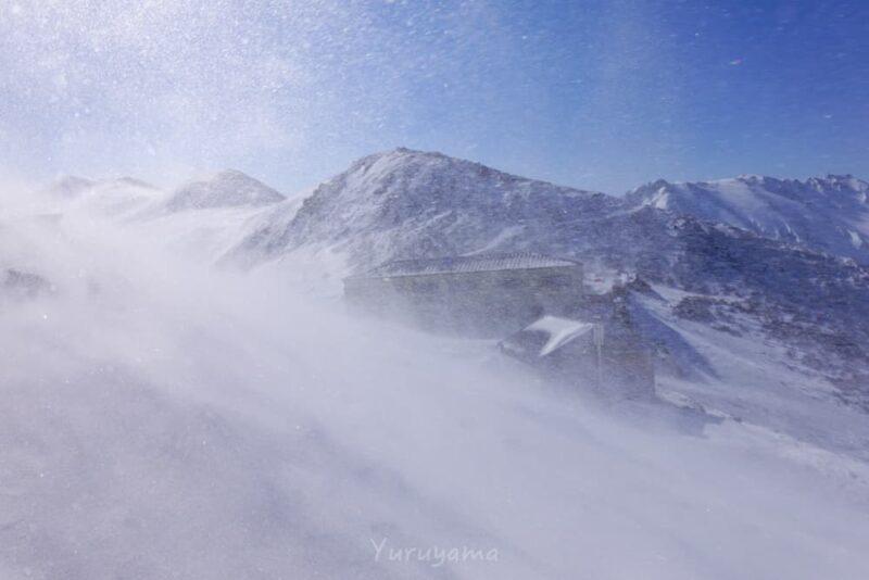 爆風の立山