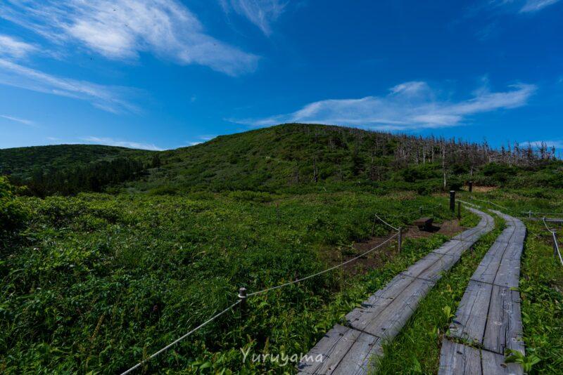 蔵王連峰の地蔵山の画像