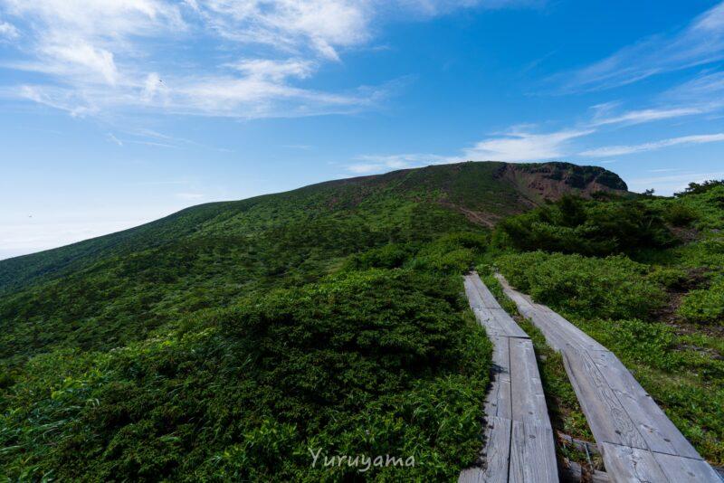 夏の蔵王連峰の画像