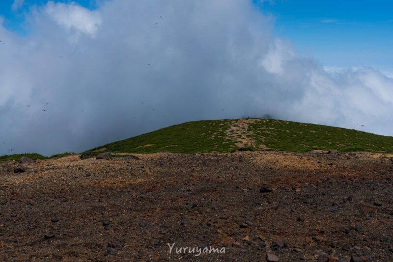 熊野岳山頂の画像