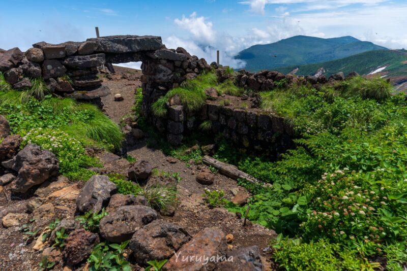 蔵王のワサ小屋跡の画像1