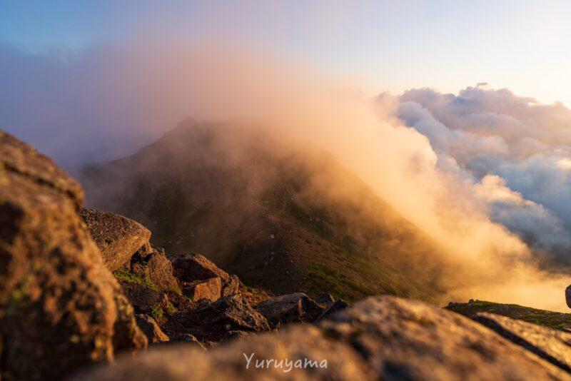 白山登山の絶景