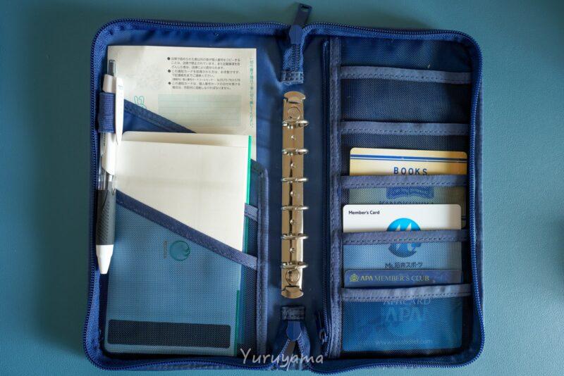 無印良品のパスポートケースの画像