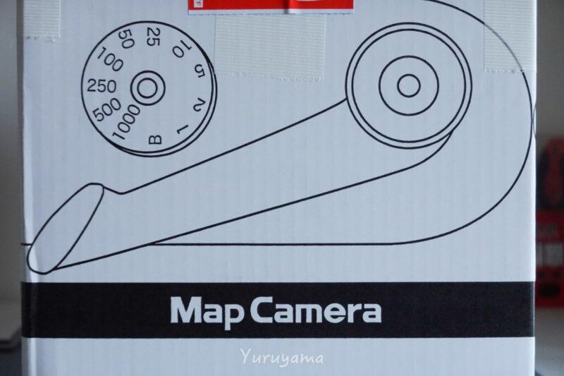 マップカメラのダンボール